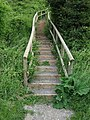 Footpath Steps at Andrew's Pant - geograph.org.uk - 1366862.jpg