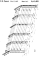 Force transducer. Trip-wire guiding device and protective fence including same. US 4643400 A. sheet1.png