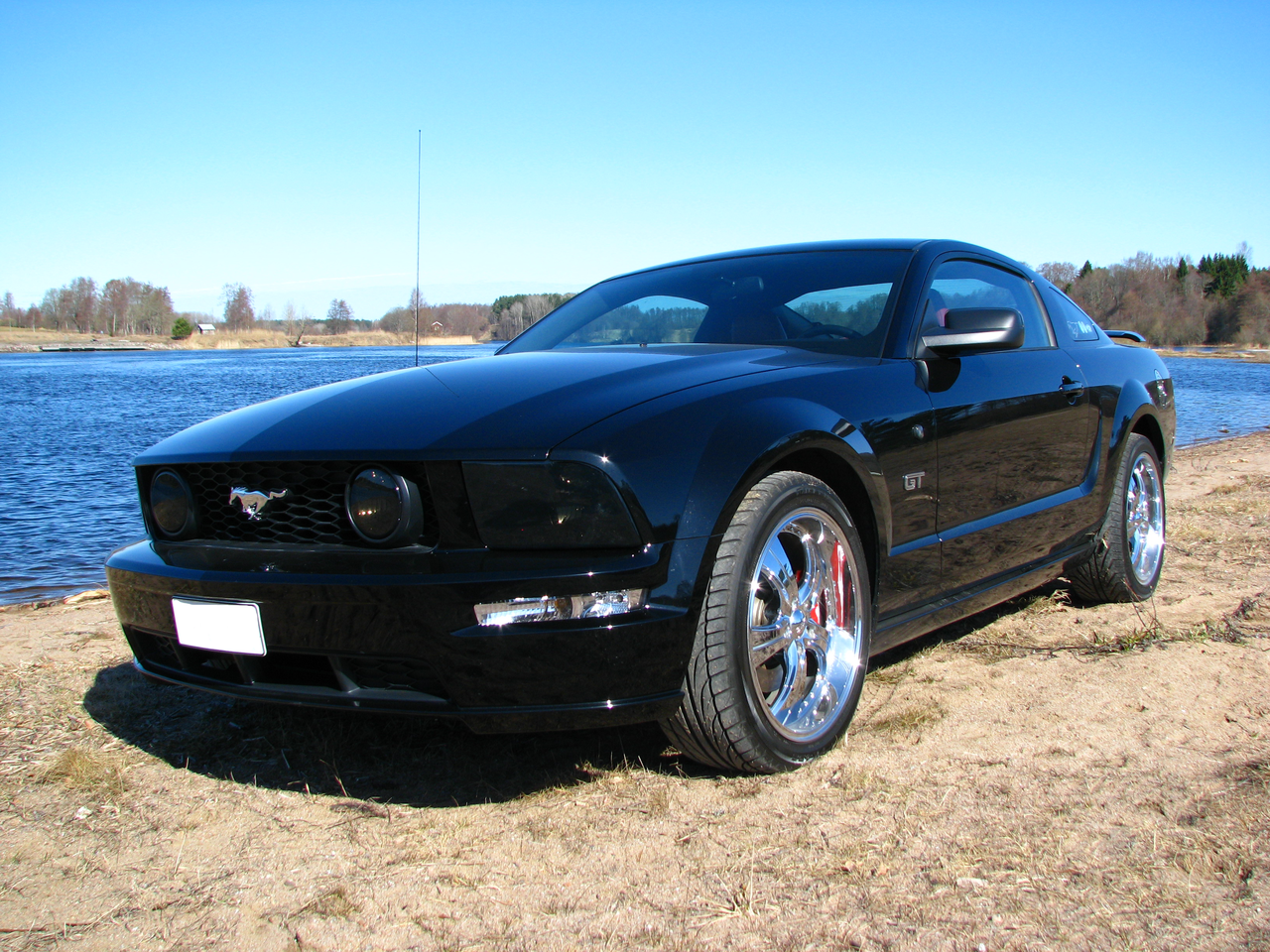 file ford mustang gt 2005 wikimedia commons. Black Bedroom Furniture Sets. Home Design Ideas