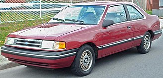 Ford Tempo - 1988–1991 Ford Tempo coupe