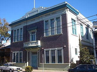 Alexandria, New South Wales - Image: Former Alexandria Town Hall