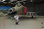 Former USAF McDonnell-Douglas F-4E Phantom (67-0237) painted in RAAF No 82 Wing livery at the RAAF Museum.jpg