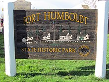 Fort Humboldt Entrance Sign.JPG