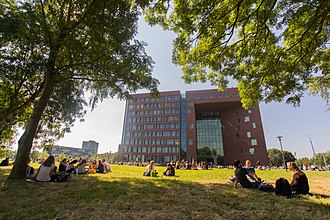 Wageningen University and Research - Forum, one of the eye-catchers on the Wageningen Campus
