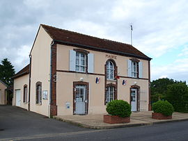 The town hall in Foucherolles