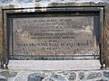 Foundation stone of St Augustine's church - geograph.org.uk - 1155307.jpg