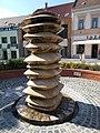 Fountain by Ferenc Kovács (1981), Kossuth St., Veszprém Belváros, 2016 Hungary.jpg