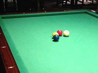 Four-ball billiards