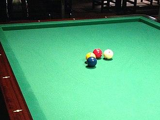 Four-ball billiards - Four-ball billiards
