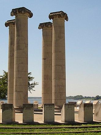 Four Freedoms Monument - Four Freedoms Monument, Evansville, IN