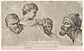 Four Heads From the Raphael Cartoons at Hampton Court MET DP824952.jpg