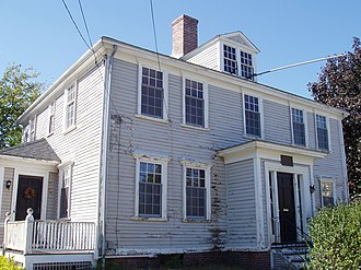 Watertown, Massachusetts - Edmund Fowle House, built in the 1700s and used by the Massachusetts government during the Revolutionary War
