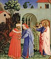 Fra Angelico (Fra Giovanni da Fiesole) - The Apostle Saint James the Greater Freeing the Magician Hermogenes - Google Art Project.jpg