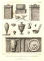 Fragmens d'antiquités Romaines, trouvés a Beja et a Évora (Voyage en Portugal, James Murphy, 1797).png
