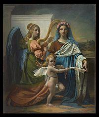 François-Joseph Navez - Saint Cecilia of Rome, 1824.jpeg