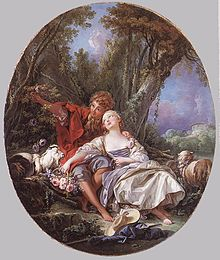 François Boucher - Shepherd and Shepherdess Reposing - WGA02915.jpg