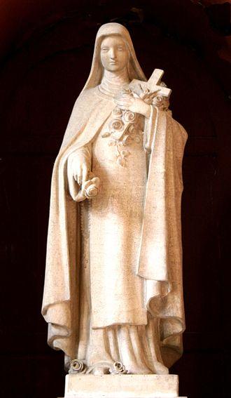 François Carli - Sculpture of Saint Thérèse de Lisieux inside the Église Saint-Cannat in Marseille