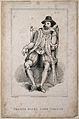 Francis Bacon, Viscount St Albans. Etching by J. Romney afte Wellcome V0000282.jpg