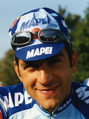 Franco Ballerini - Ballerini at the 1993 Tour de France