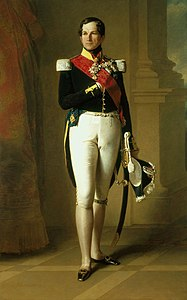 Franz Xaver Winterhalter (1805-73) - Leopold I, King of the Belgians (1790-1865) - RCIN 407284 - Royal Collection.jpg