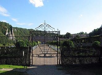 Castle of Freÿr - Château et Jardins de Freÿr seen from the North