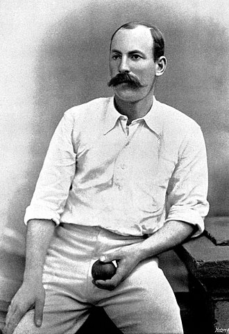 Frederick Martin (cricketer) - Martin in around 1895