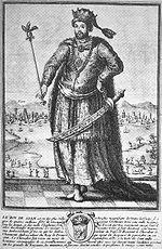 French depiction of King Narai