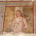 Fresco of Saint Sebastian in Magliano, Tuscany, Italy.jpg