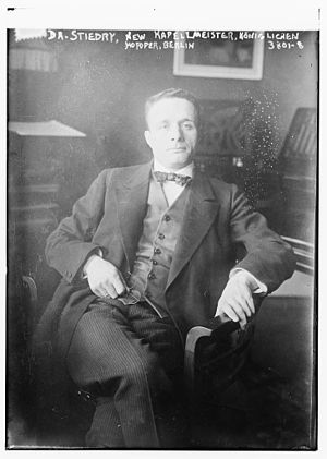Fritz Stiedry - Fritz Stiedry circa 1915 in Berlin