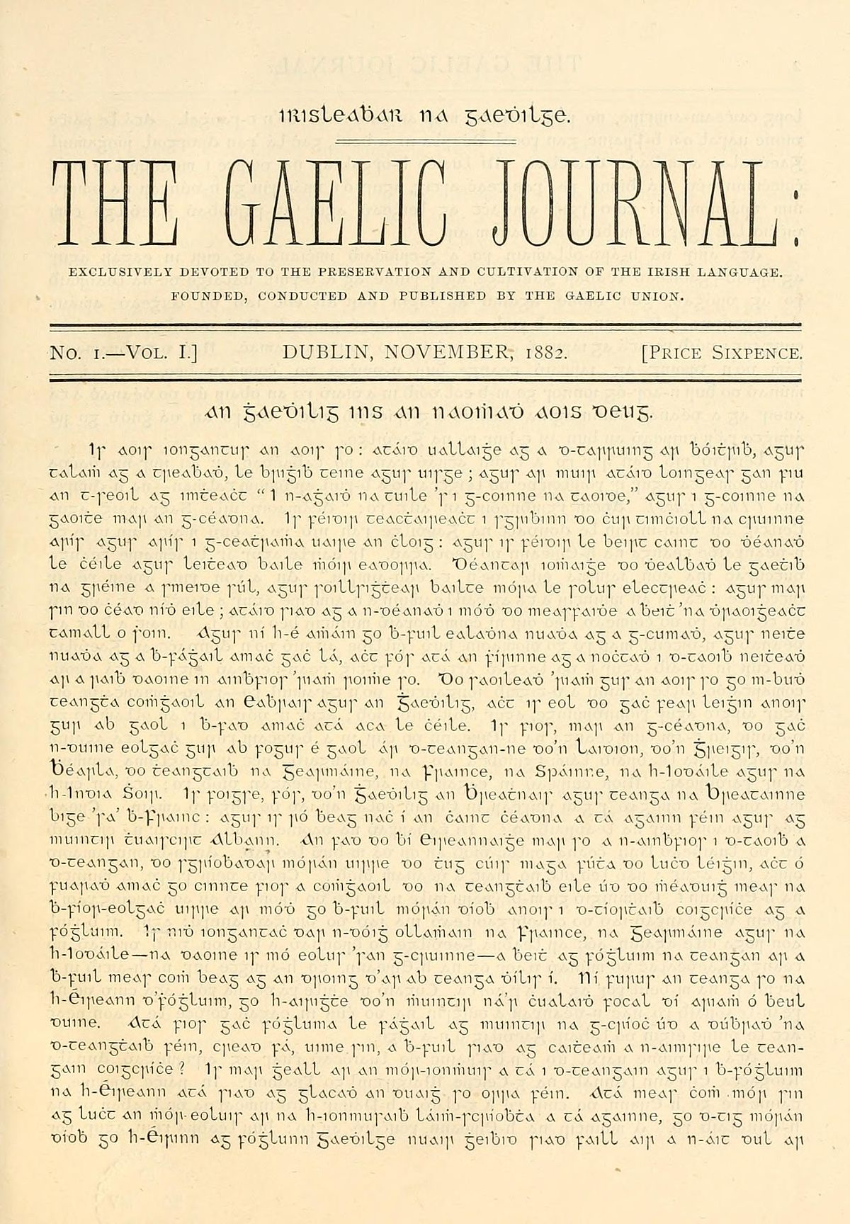How to read and write gaelic - How To Read And Write Gaelic