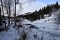 Frozen Cameron River - Yellowknife, Canada (5325143515).jpg