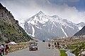 Frozen mountain in Naran Pakistan.jpg