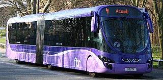 Articulated buses in the United Kingdom