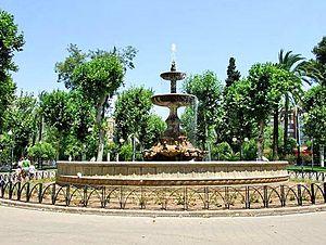 Fuente de los Jardines de Colón (Córdoba, Spain)