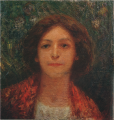 FujishimaTakeji-1906-Potrait of an European Woman.png