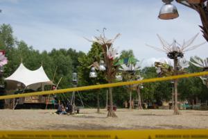 Fusion Festival - Dancing Desert installation at Fusion Festival 2014