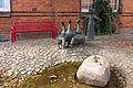 Gänseliesel-Brunnen (Georg Arfmann) in Wittingen IMG 9247.jpg
