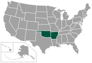 Bi-State Conference - Image: GA Cstates