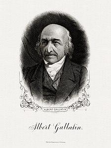 GALLATIN, Albert-horloĝoĉen-fiska (BEP gravuris portreton).jpg