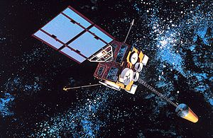 Weather satellite - GOES-8, a United States weather satellite of the meteorological-satellite service