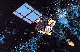 Earth observation satellite - GOES-8, a United States weather satellite.