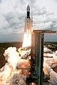 GSLV Mk III M1, Chandrayaan-2 Lifting off 03.jpg