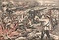 GUERRA RUSSO-JAPONEZA. Episodios da defeza de Porto Arthur. Uma bateria russa em combate, no momento de rebentar uma granada atirada pela esquadra sob o commando do almirante Togo.jpg