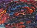 Gabriel Robin - 1963 - Esquisse 11 pour l'Etna - la coulée de lave 3.jpg