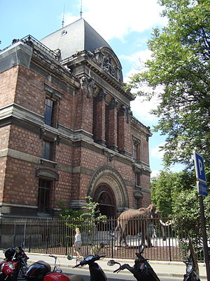 National Museum of Natural History (France) - Main façade of the Gallery of Palaeontology and Comparative Anatomy.