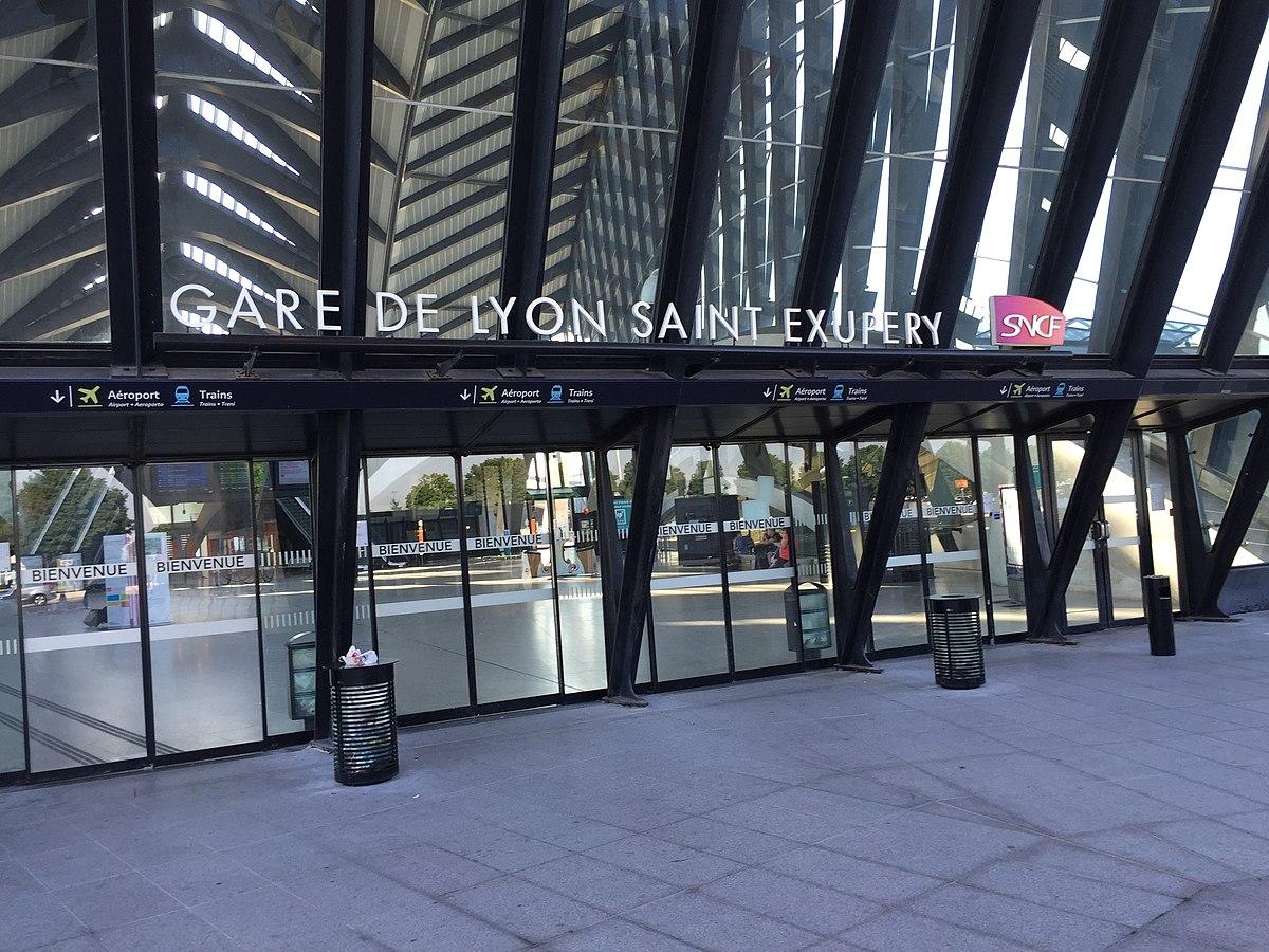 Stazione di lyon saint exup ry tgv wikipedia - Gare de lyon jardin des plantes ...