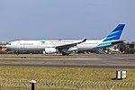 Garuda Indonesia (PK-GPW) Airbus A330-343 at Sydney Airport (3).jpg