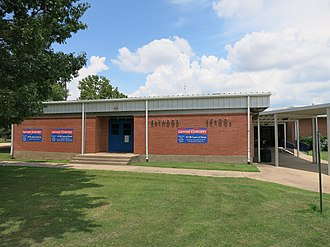 Rice Consolidated Independent School District - Image: Garwood TX Elementary School