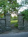 Gateway in the boundary wall of Glebe House - geograph.org.uk - 1349042.jpg
