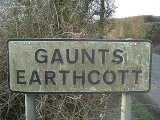 Gaunts Earthcott village in United Kingdom